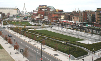 Will the North End Parks be rented out for large events?