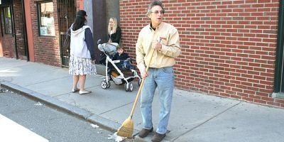 True Value's Ken Rothman does his part to keep the North End streets clean