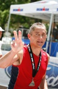 """North End/Waterfront Resident Jon Larson is Competing in the Ironman in Kona, Hawaii this year on behalf of Dana-Farber/Children's Hospital Cancer Children's Center (Click Image To See The """"Road to Kona 2009"""" Facebook page)."""