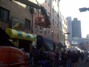 """Michael Ratty Tweets """"The Town"""" Shoot at Neptune Oyster  (Click Image for Twitpic)"""