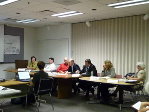 Greenway Leadership Council deliberates with the Conservancy.