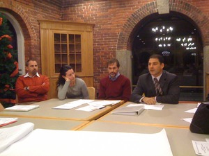 The Gates Family and Attorney Toscano at ZLC Meeting