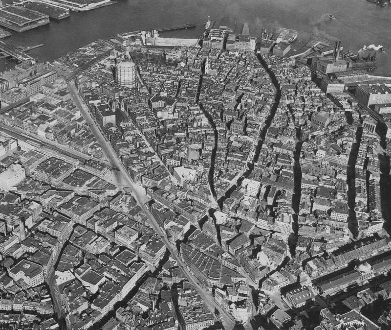 1923 Aerial Photo of the North End