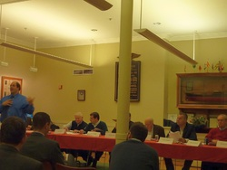 The Parcel 7 & 9 Advisory Committee met at the Mariner's House in North Square on November 17.