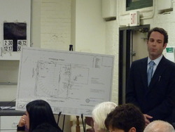 Todd Gilbert from Laz Parking Presents the Planned Lot Improvements for 588 Commercial St.