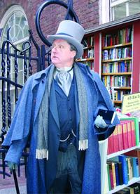 Bob Jolly, historian and one of stroll leaders (Photo credit: Freedom Trail Foundation)
