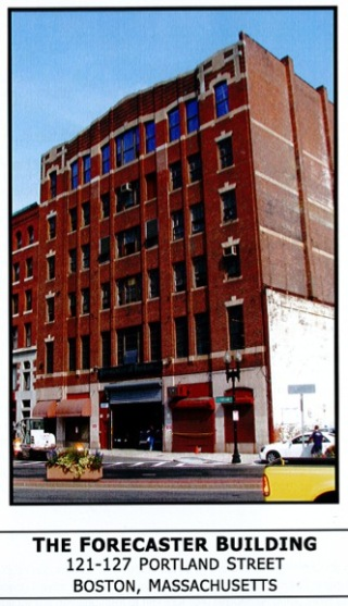 Forecaster Building in the Bulfinch Triangle (Source: Boston Redevelopment Authority)
