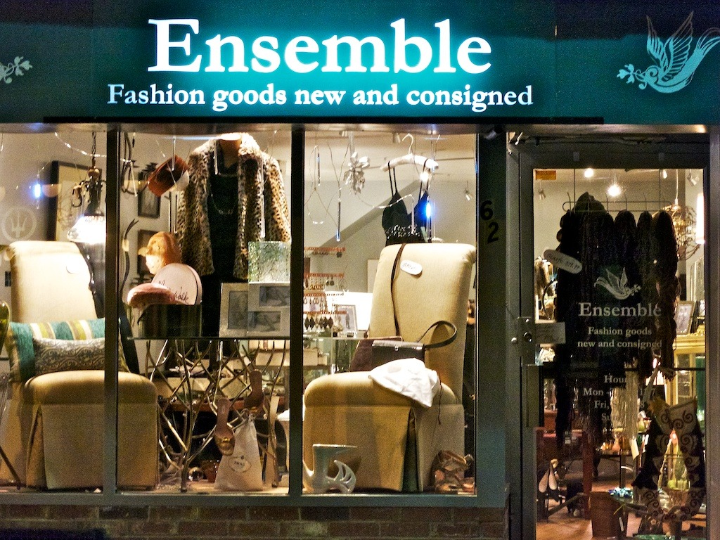 Ensemble high end consignment and new accessories shop for High end consignment shops