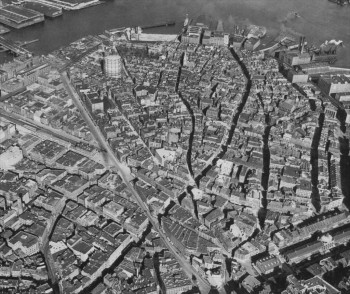 North End Aerial - 1923 - (Courtesy of Boston Public Library)
