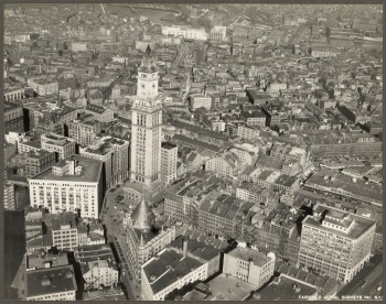 Custom House looking toward North End 1928 (Courtesy of Boston Public Library)