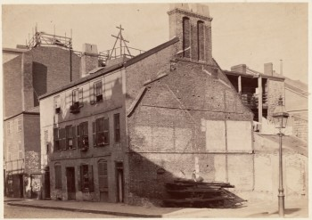 Old House on North Street (Courtesy of Boston Public Library)
