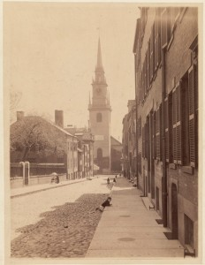 Old North Church (Courtesy of Boston Public Library)