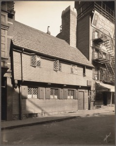 Paul Revere House Taken 1909 by Thomas Marr - 2 (Courtesy of Boston Public Library)