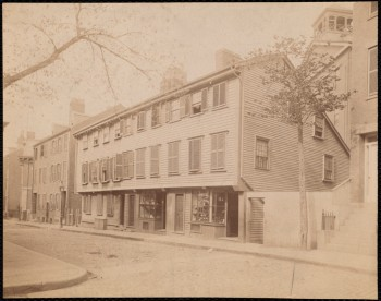 Wells House, Salem Street, North End (Courtesy of Boston Public Library)