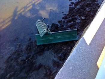 Missing-Benches-in-Water-I
