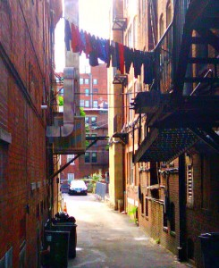 Alleys of North End by Michele Levine - May 2012