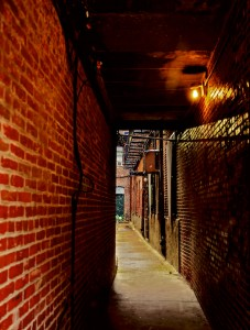 North End Building Alley - December 2012 - Photo by Matt Conti