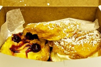 St. Joseph's Day Zeppole from Maria's Pastry - March 2012 by Matt Conti