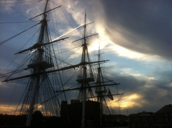 USS Constitution - 2011 by Jerry Cordasco