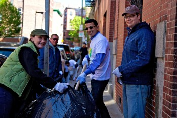 Cleaning Up Charter Street