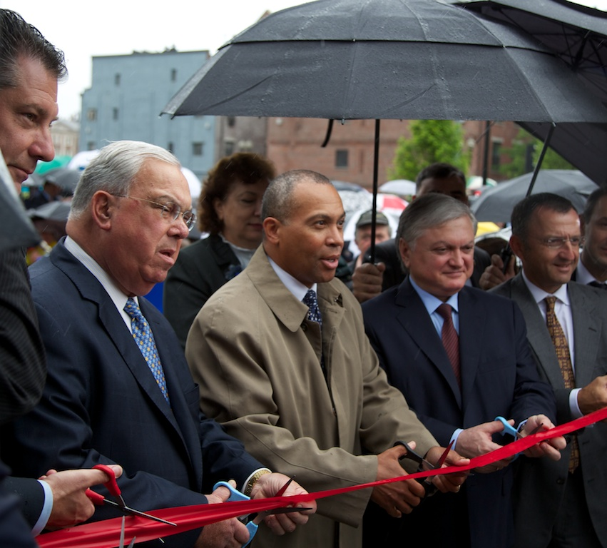 Ribbon Cutting with Governor Patrick, Mayor Menino and members of the Armenian Heritage Foundation