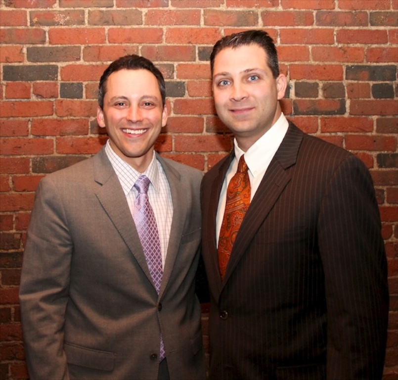 Representing the North End / Waterfront in the State House are State Representative Aaron Michlewitz (left) and State Senator Anthony Petruccelli.