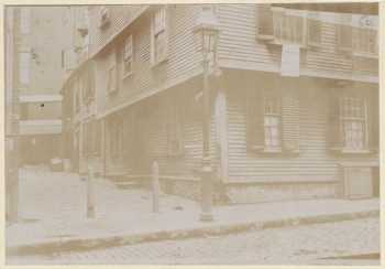 Elner Place (116 Salem St.) 1893 (Courtesy of Boston Public Library)