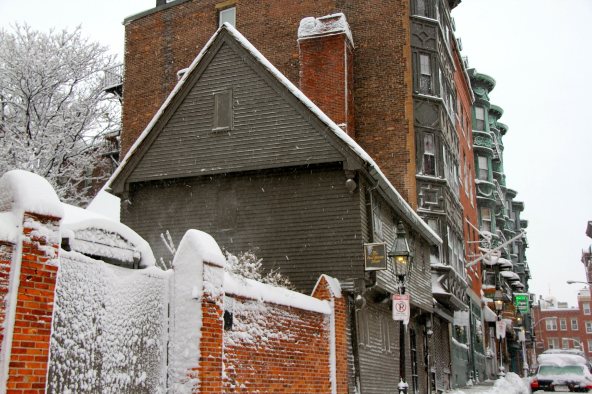 The Paul Revere House Is Open All Winter. North End Residents Are Waived  Admission.