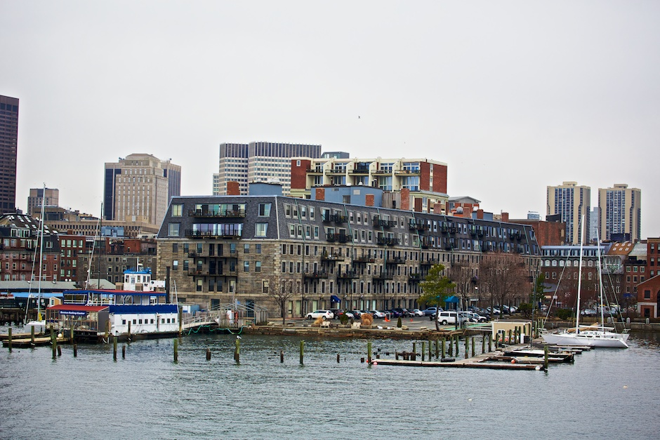 Lewis Wharf and Boston Sailing Center