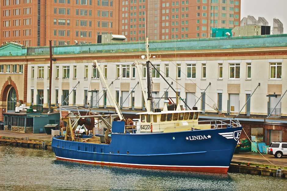 Linda Fishing Boat at the Seaport