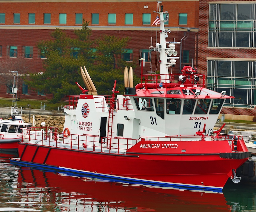 New Fireboat MassPort - American United