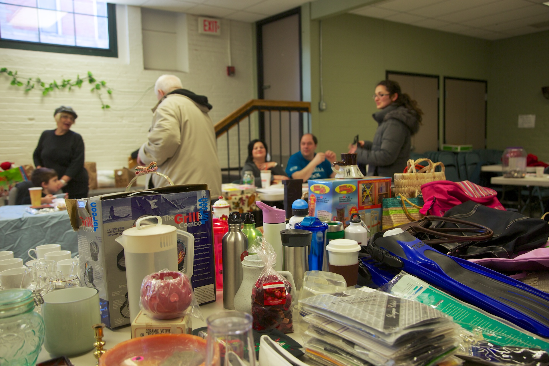 The Flea Market to benefit St. Francis House.