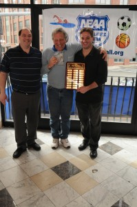 Coach's Special Recognition Award to Ralph Indrisano (center)