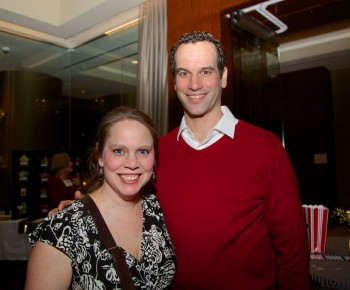 Library Supporters, Becca and Tim Griffin