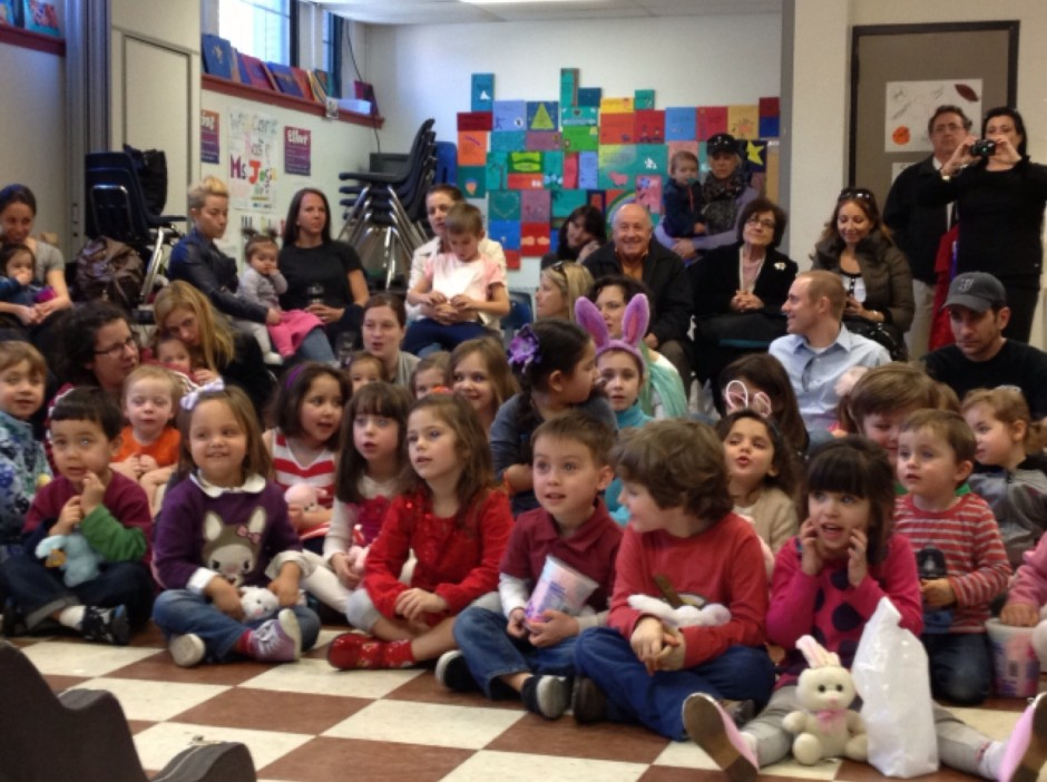 Kids at Easter Puppet Show - Photo by Laura DiPaulo