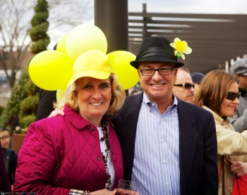 Donna and Sal on Daffodil Day