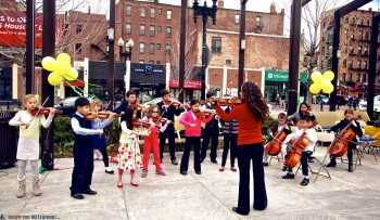 Boston String Academy Performs at the North End Parks