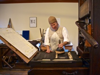 Printing Office of Edes & Gill at Old North Clough House - Gary Gregory