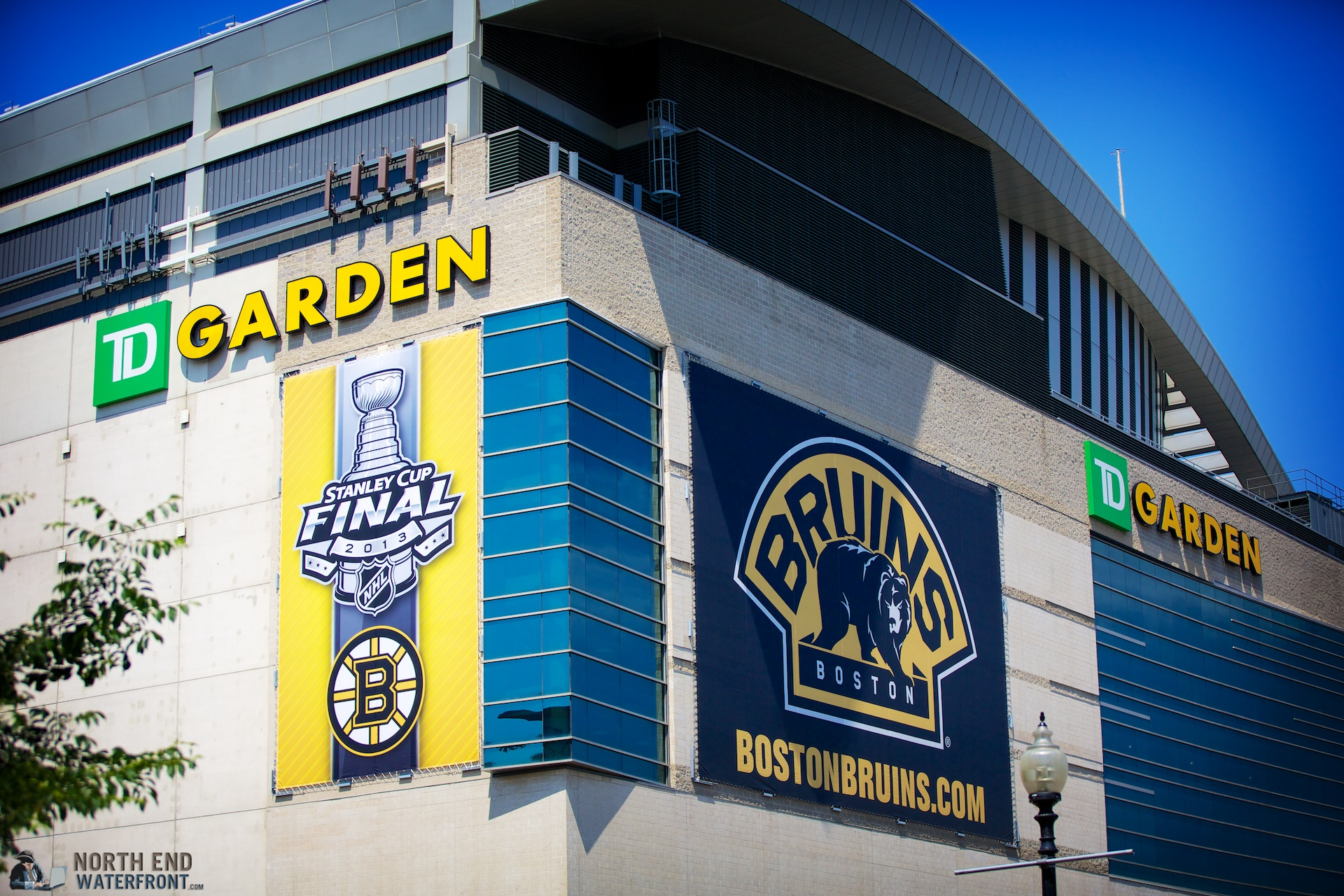 Bruins Send Off at TD Garden for Game 5 of Stanley Cup Finals in