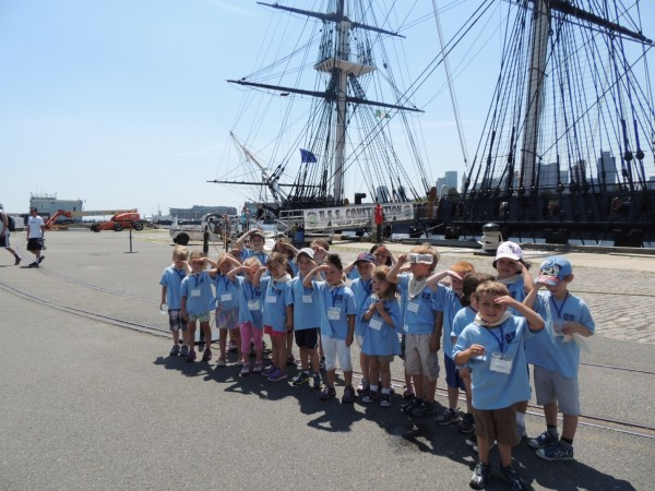 Our Vist to the USS Constitution