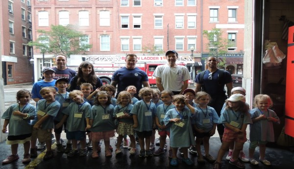Our visit to the North End Firehouse