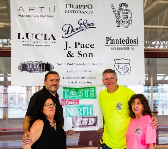 A photo from the 2013 Bocce Tournament for Taste of the North End