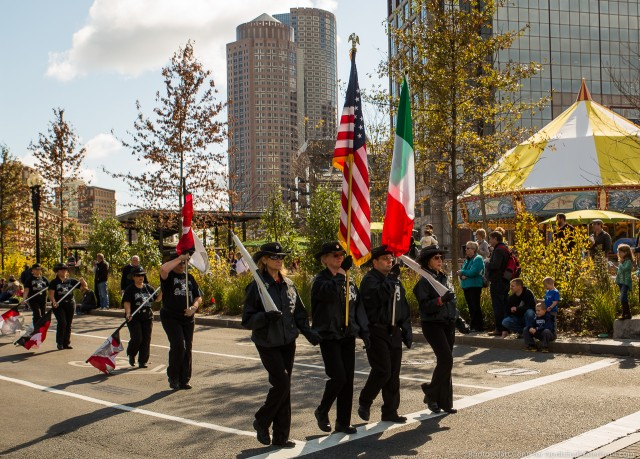 Photo by Matt Conti, taken during the 2013 Columbus Day Parade.