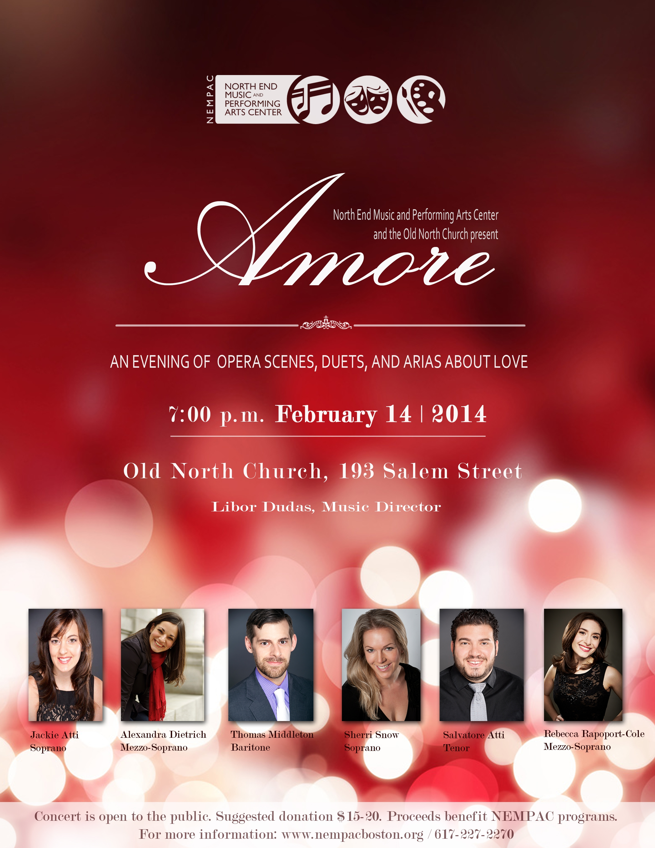 Old North Church Plays Host To NEMPACs Valentines Day Opera
