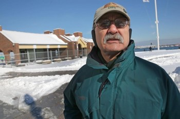 This retired retired National Park Service manager has haulted the BRA's plan for Long Wharf, Read at The Boston Globe.  Photo by DAVID L. RYAN/GLOBE STAFF