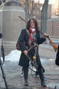 Aerosmith guitarist, Joe Perry, on the Prado. Photo by Rev. Steve Ayre