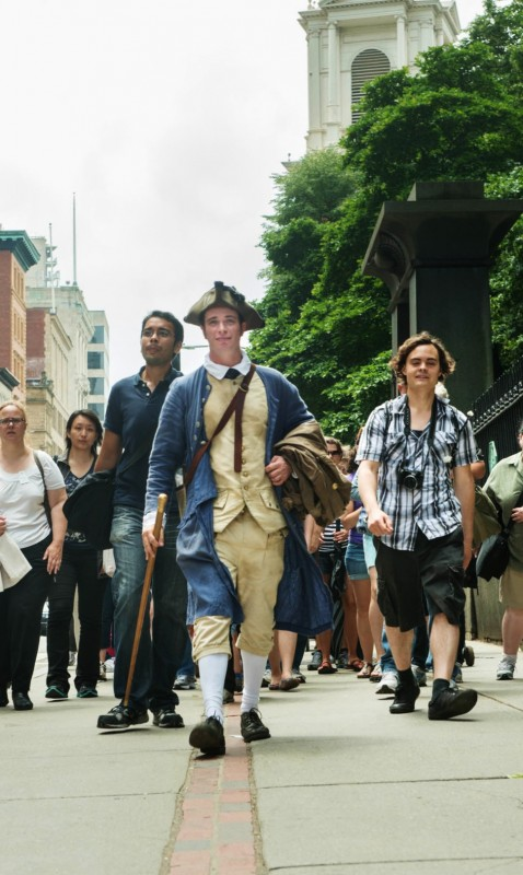 Freedom Trail Foundation Tours Start Up Again For Spring
