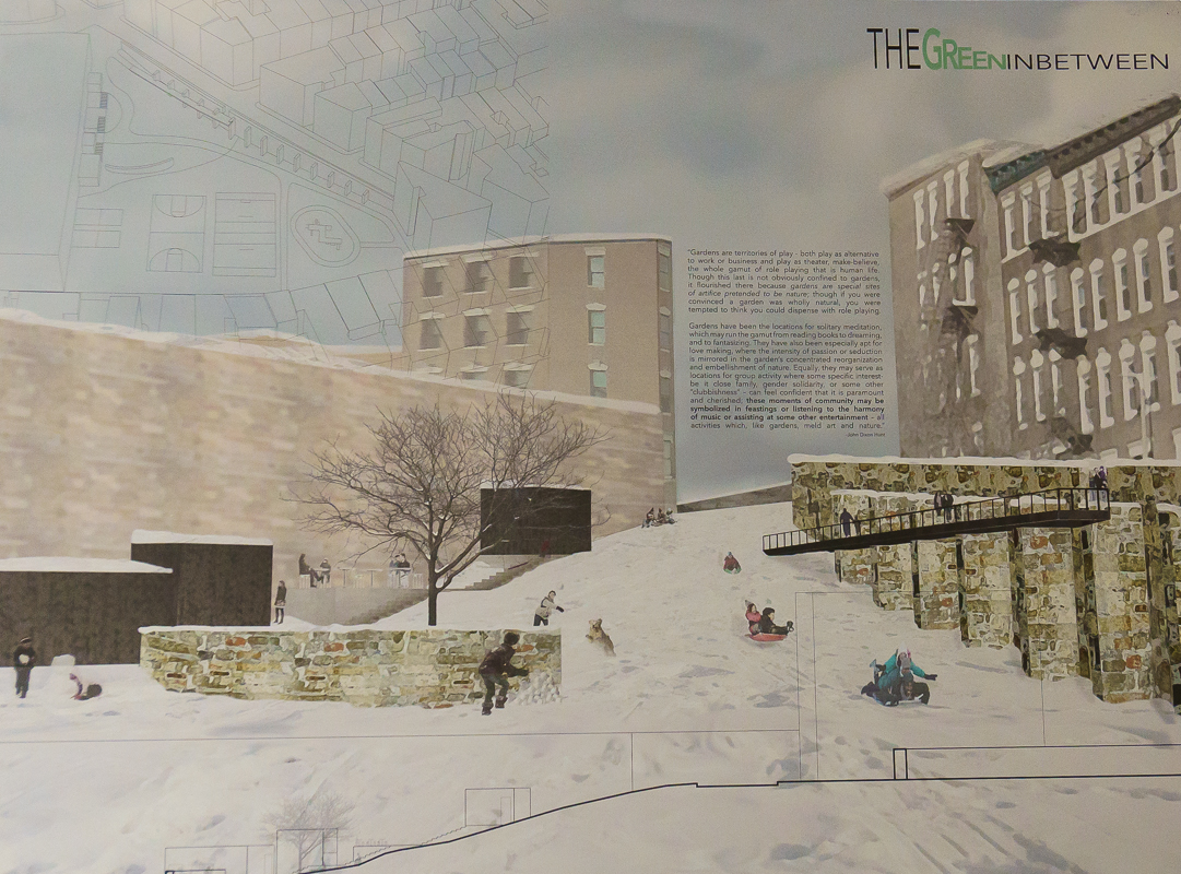 Holly Hersey + Rima Aboulseiman  (Professor's Choice Award) title: The Green In Between