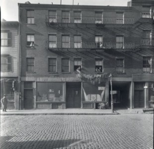 Can you name the location of this North End throwback photo?