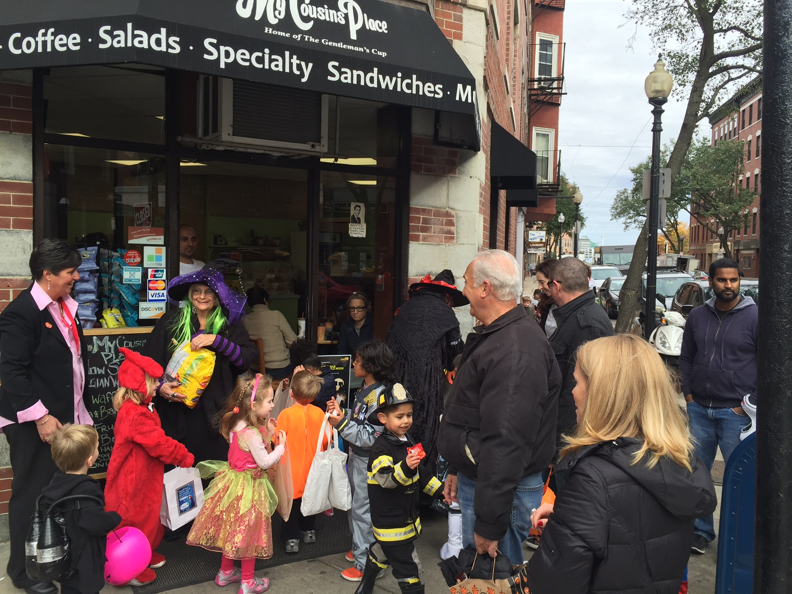 Halloween Carnival and Prado Party in the North End [Photos ...